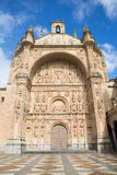 Salamanca - The portal of Convento de San Esteban Stock Photos