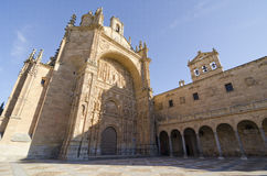 Salamanca. San Estebans kloster Royaltyfria Bilder
