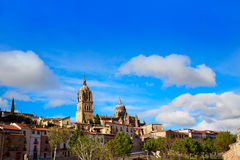Salamanca skyline and Cathedral Spain Royalty Free Stock Photography
