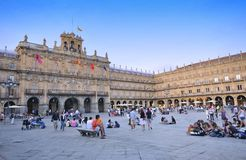 Salamanca, Spain. Royalty Free Stock Photography