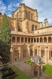 SALAMANCA, SPAIN, APRIL - 16, 2016: The gothic atrium of monastery Convento de San Esteban Stock Image