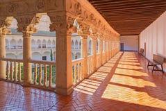 SALAMANCA, SPAIN: The atrium of Convento de las Duanas. Stock Photography