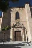 Salamanca Spain: Convento de la Anunciacion, historic church Stock Image