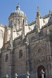 Salamanca Spain: historic cathedral Stock Photos