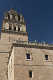 Salamanca Spain: historic cathedral Stock Images
