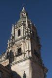 Salamanca Spain: historic church of Clerecia Royalty Free Stock Photos