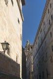 Salamanca Spain: historic Clerecia church Stock Photography