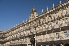 Salamanca Spain: historic Plaza Mayor Stock Image