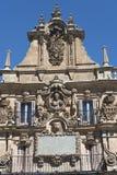 Salamanca Spain: historic Plaza Mayor Royalty Free Stock Images