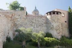 Salamanca Spain: historic walls Royalty Free Stock Image