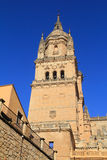 Salamanca, Spain. UNESCO World Heritage Site. Spain, Castilla y Leon, Salamanca. Salamanca Cathedral's Southern bell tower. The ancient university city is a royalty free stock photo