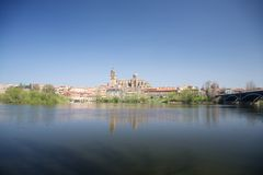 Salamanca-Stadtlandschaft Stockbild