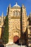 Salamanca Stara katedra zdjęcie royalty free