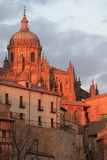 Salamanca at sunset Royalty Free Stock Image