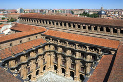 Salamanca - Universidad - Spain Stock Image