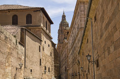 Salamanca University buildings, Spain Royalty Free Stock Photography