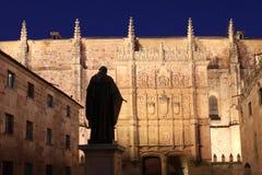 Salamanca university in Spain Stock Image