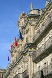 Salamanca urząd miasta Zdjęcia Stock