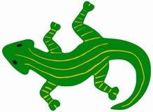Salamandre verte Image libre de droits