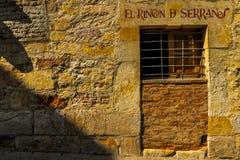 Salamanque - l'Espagne images stock