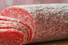 Salame Stock Photo