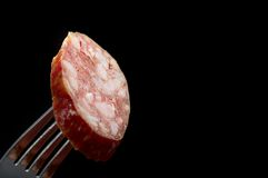 Salame Italiano Royalty Free Stock Photos