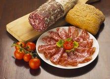 salami royalty-vrije stock fotografie