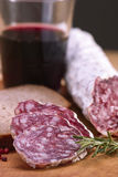 Salami Royalty Free Stock Photography