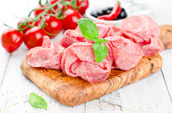 Salami Stock Photo