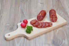 Salami royalty-vrije stock foto's