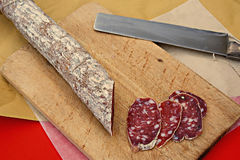 Salami Royalty Free Stock Photos