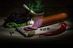 salami Stock Foto's