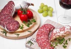 salami Fotografia de Stock