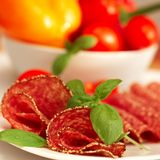 Salami Fotos de Stock Royalty Free