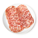 Salami Finocchiona Royalty Free Stock Photography