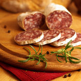 Salami francês Fotos de Stock