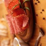 Salami hongrois Photographie stock