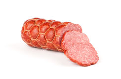 Salami isolated Stock Images