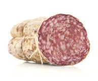 Salami italiano imagens de stock royalty free