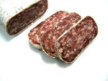 Salami italiano Imagen de archivo