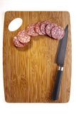 Salami Meat Stock Image