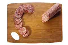 Salami Meat Royalty Free Stock Photography