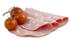 Salami / Mortadella Stock Images
