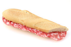 Salami roll Royalty Free Stock Photos