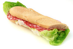 Salami roll Stock Photography