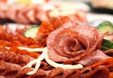 Salami rose Stock Photography