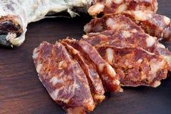 Salami rouge Photos stock