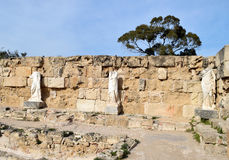 Salami-Ruinen Stockfotografie