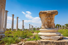 Salami ruiny Zdjęcie Stock