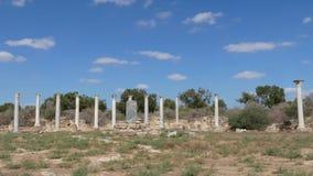 Salami ruiny Cypr zbiory wideo